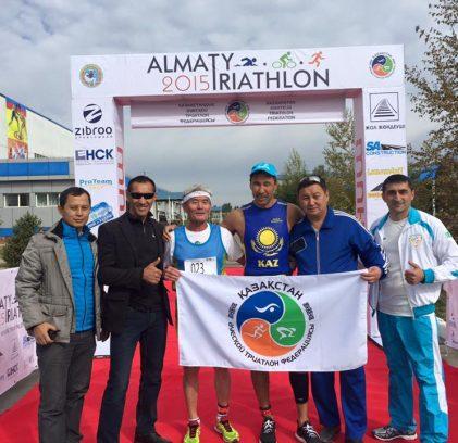 27 сентября состоялся Almaty triathlon 2015г